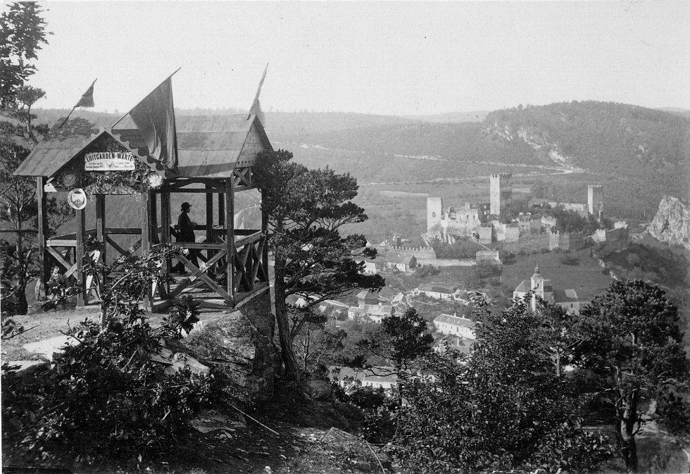 Luitgardina vyhlídka na konci 19. století. Foto: