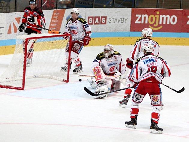 První utkání sezony znojemských hokejistů doma.