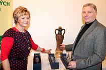 Libor Frimmel ze Znojma získal ocenění za pozdní sběr Chardonnay 2012 a stal se tak Šampionem letošního Znojemského koštu.