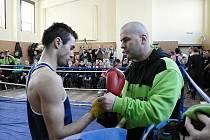 Vladimír Lengál s trenérem Miroslavem Jánským.