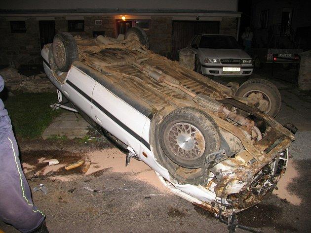 Nehoda v Kravsku