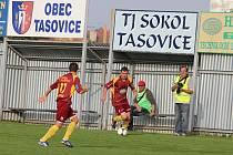 Tasovice v utkání s Vyškovem.