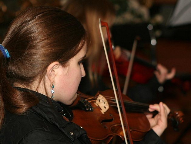 Vánoční koncert v kostele svatého Kříže ve Znojmě.