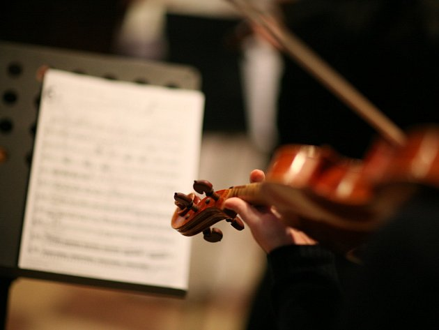 Pavel Šporcl s Czech Ensemble Baroque v Louce