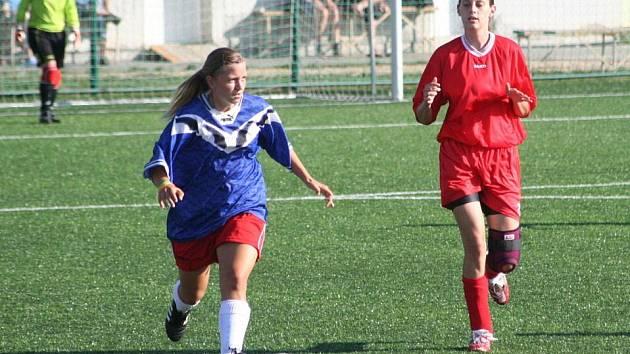 Fotbalistky Jevišovic - ilustrační foto.