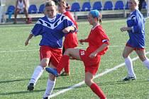 Fotbalistky Jevišovic, které za sebou mají domácí premiéru, podlehly Ivančicím 0:4.