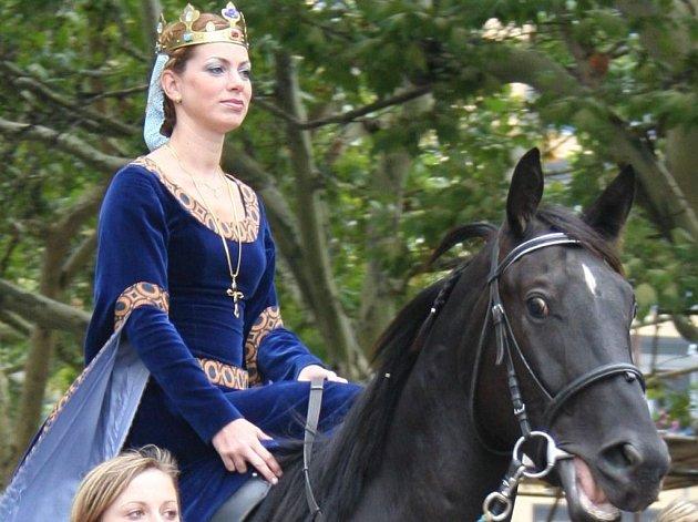 Královna Znojemského vinobraní Dagmar Štrausová
