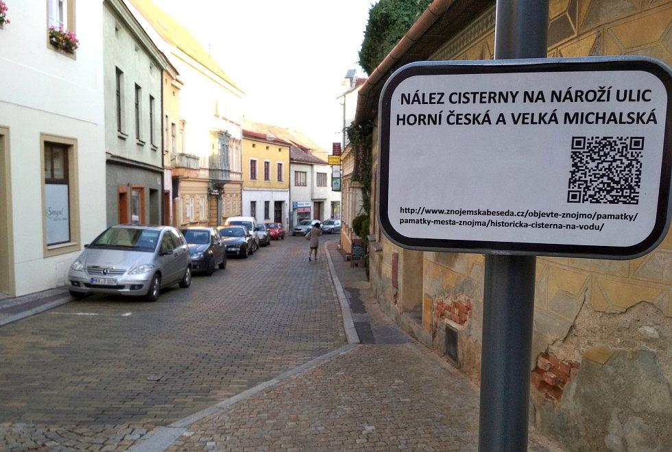 Horní Česká ve Znojmě.