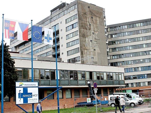 Znojemská nemocnice.
