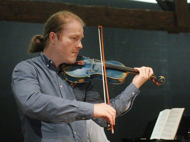 Pavel Šporcl na Hudebním festivalu Znojmo.
