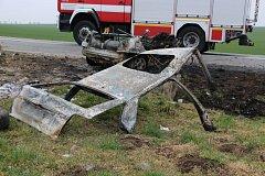 Havárie na silnici I/53 si vyžádala v neděli časně ráno hned čtyři lidské životy.