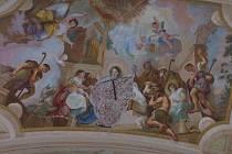 Maulbertschovy fresky v Dyji čekají další opravy