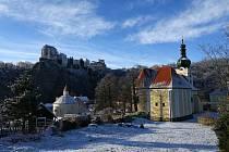 Zimní procházka Vranovem nad Dyjí.