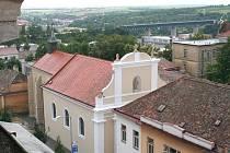 Kostel svaté Alžběty ve Znojmě.