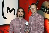 Tvůrci úspěšných propagačních spotů nejen o Znojmě, bratři Vítězslav (vlevo) a Jan Otrubové ze společnosti VideoBrothers.