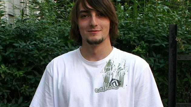 Tomáš Lukášek, jeden z organizátorů dřevárnické bitvy Helmáč.