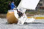 O víkendu proběhl na jezeře Vranovské přehrady další okruhový závod jachtařů nazvaný Moravia Cup.
