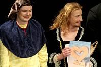 Charitativní divadelní představení zorganizovalo vedení znojemských hasičů. Zcela zaplněnému divadlu v pátek večer zahráli ochotníci z Divadelního spolku Martiny Výhodové dvě hry Divadla Járy Cimrmana.