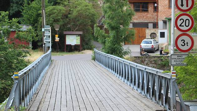 Most přes Dyji pod znojemskou přehradou otevřou  jen pěším