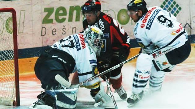 HC Znojemští Orli - Bílí Tygři Liberec