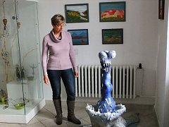 Přípravy výstavy v galerii Knížecího domu v Moravském Krumlově jsou v plném proudu, vernisáž totiž organizátoři naplánovali na pondělí osmnáctého ledna.