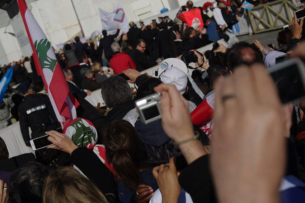 Ohlédnutí za inaugurací papeže Františka v Římě, 19. března 2013.