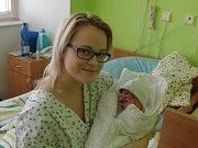 Prvním dítetem narozeným na Znojemsku je letos Milan Šuba, který se narodil 3, ledna.