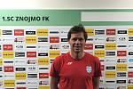 Nový trenér třetiligových fotbalistů Znojma David Langer.