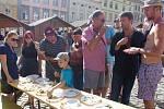 Centrum Znojma patřilo v závěru týdne desátým Slavnostem okurek.