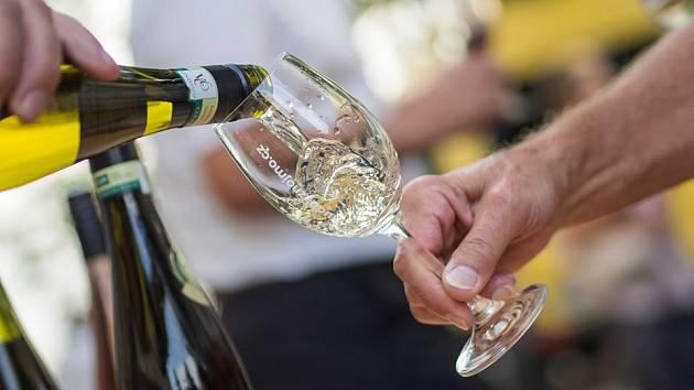 K festivalovým koncertům patří i ochutnávka vín