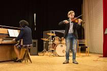 Z koncertu miroslavských žáků ZUŠ. Foto: archiv školy
