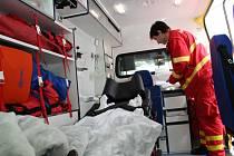 Znojemští záchranáři mají novou sanitku