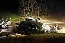 Tragická nehoda na Znojemsku si vyžádala čtyři životy.