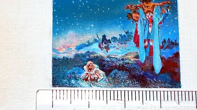 Jihlavský výtvarník Jan Jiří Rathsam dokončil kolekci sedmnácti miniaturních obrazů Slovanské epopeje Alfonse Muchy. Unikátní dílo umístí v pelhřimovském Muzeu rekordů a kuriozit.
