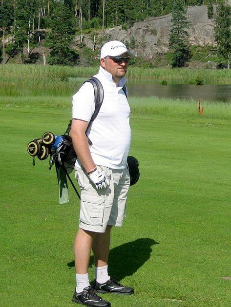 Golfista Jiří Čírtek.