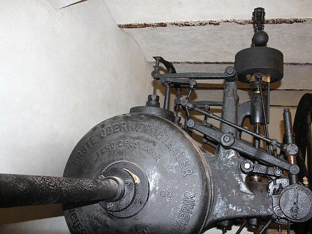 Znojemské Muzeum motorismu se pyšní dalším kouskem. Je jím parní stroj z roku 1903.