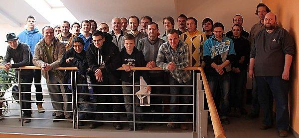Šachisté zokolí Znojma odehráli novoroční turnaj všachu.