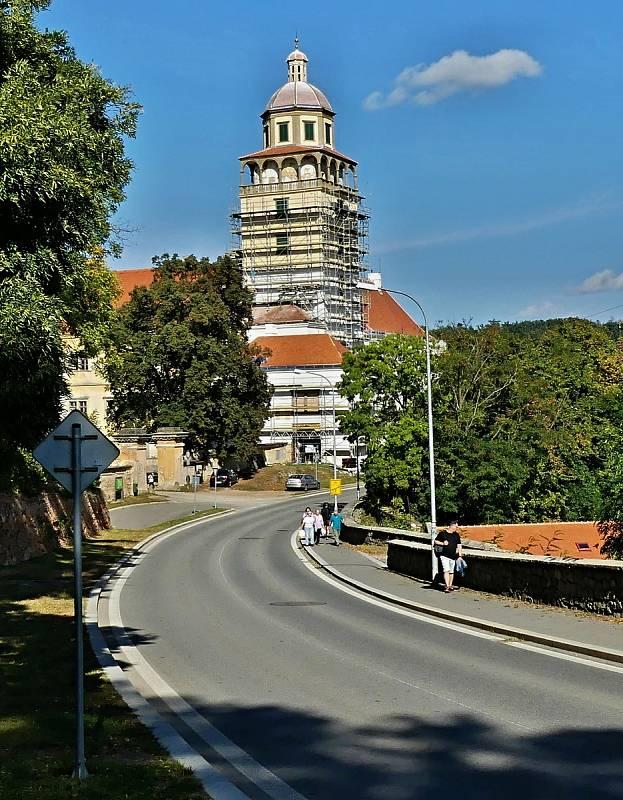 Z návštěvy Moravského Krumlova.