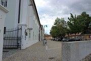 Evropská unie ve Znojmě přispěla například na rekonstrukci Horního a Václavského náměstí a ulic Přemyslovců a Vlkova. Na snímku ulice Přemyslovců.