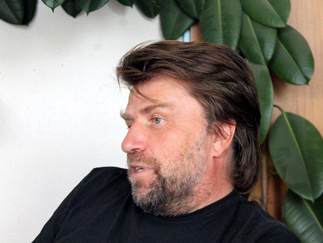 Jeden z jednatelů a desetinový podílník společnosti Orli Znojmo Stanislav Hahn.