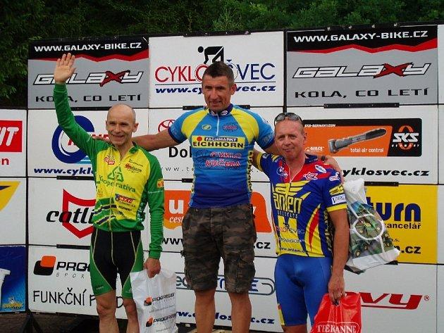 Roman Meidl na stupních vítězů