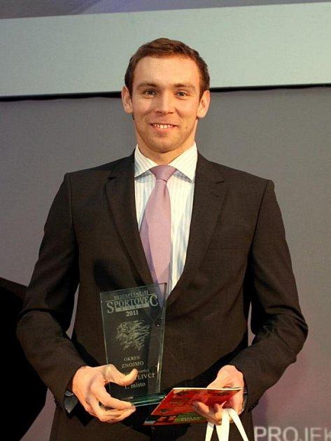 Znojemským sportovcem roku se stal plavec Michal Rubáček.