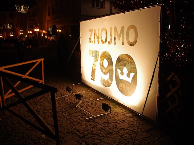 Logo Znojma k letošnímu výročí.