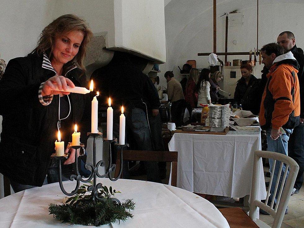 Andělské zvonění na hradě Bítov.