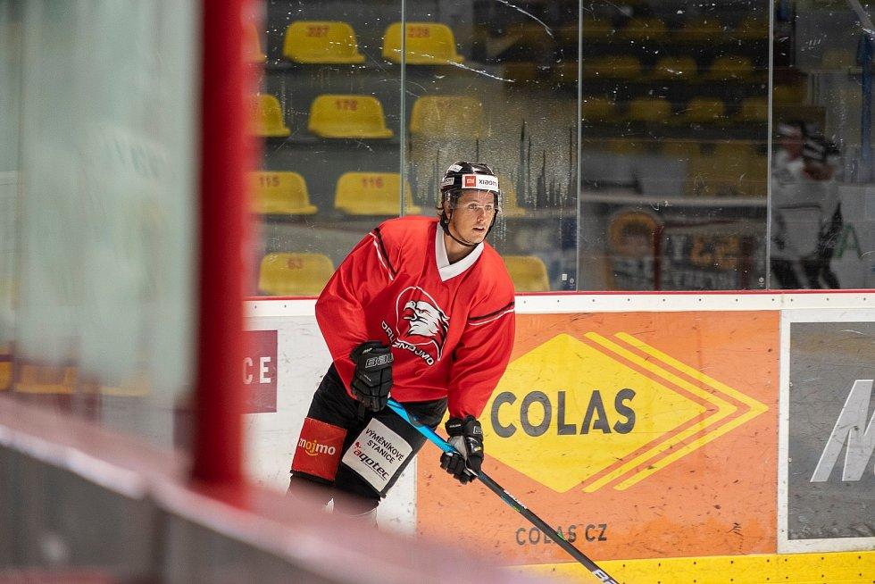 Hokejisté Znojma zahájili přípravu na ledu na další ročník v mezinárodní soutěži ICEHL. Ta startuje v polovině září.