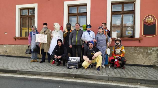 Jamoličtí o víkendu slavili tradiční Vostatky. Foto: archiv obce