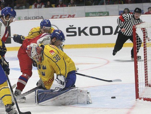Čeští hokejisté utrpěli v přípravě na mistrovství světa debakl od Švédska 2:7.