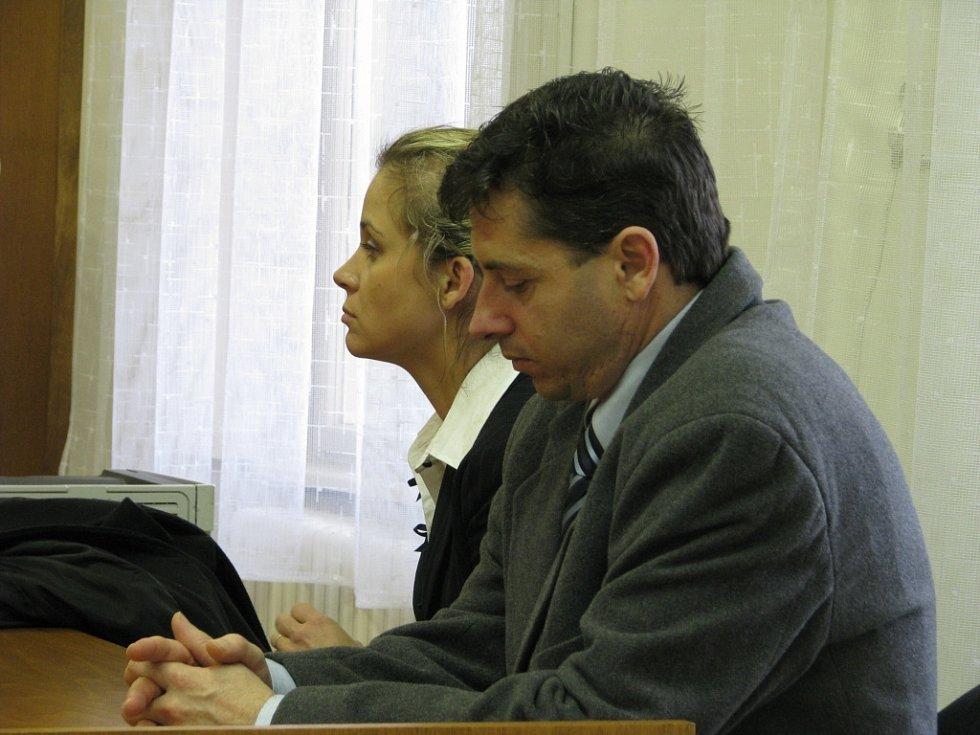 Policista Roman Lát na lavici obžalovaných