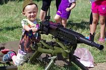 Pěchotní srub Zahrada v Šatově o svátcích ožil programem pro děti i pro odrostlejší příznivce vojenské historie.