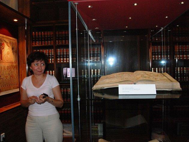 Minigalerii ve Vlkově věži představí kopii Velislavovy bible